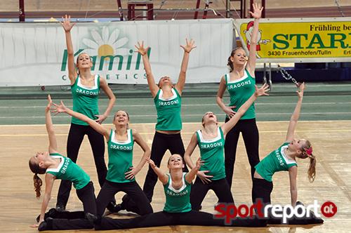 Die Cheerleading Regionalmeisterschaft Wien-Süd steht vor der Tür
