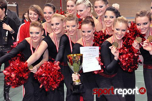 Gold & Bronze für die Milleniumdancers bei der ECU Cheerleading EM