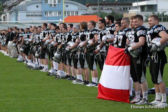 American Football, Swarco Raiders, Calanda Broncos