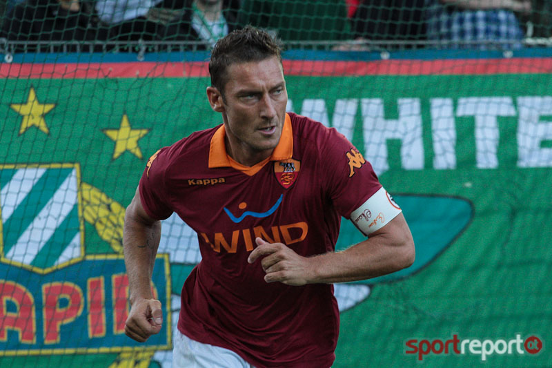 Fußball, Italien, AS Rom, Francesco Totti, Major League Soccer, Florida, Miami
