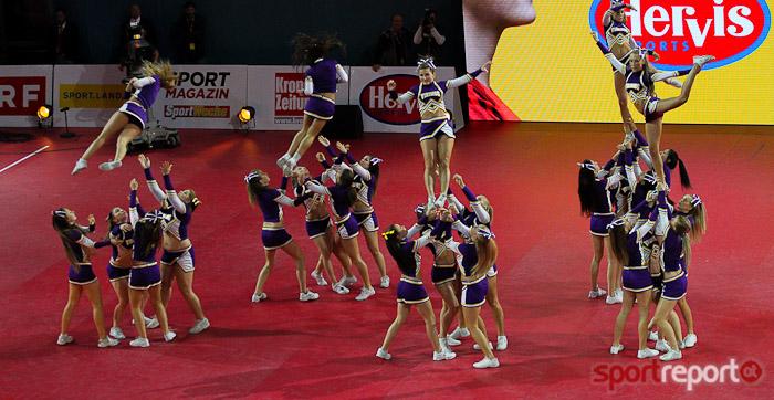 Cheerleader, Vienna Vikings, Ballsportgymnasium