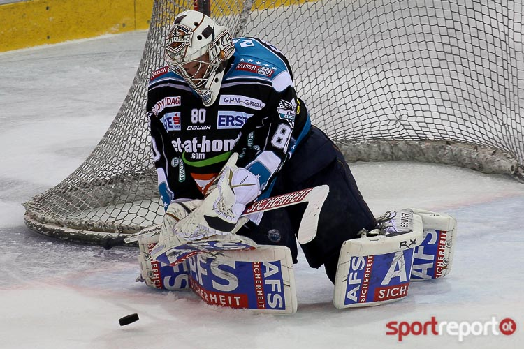 Neuer Goalie für die Black Wings - Foto © Sportreport/Andreas Urban