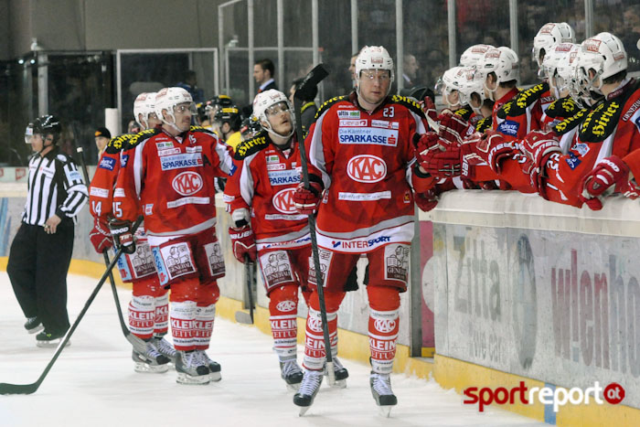 KAC, Graz 99ers, EBEL, Zwischenrunde, Bericht - Foto © Sportreport