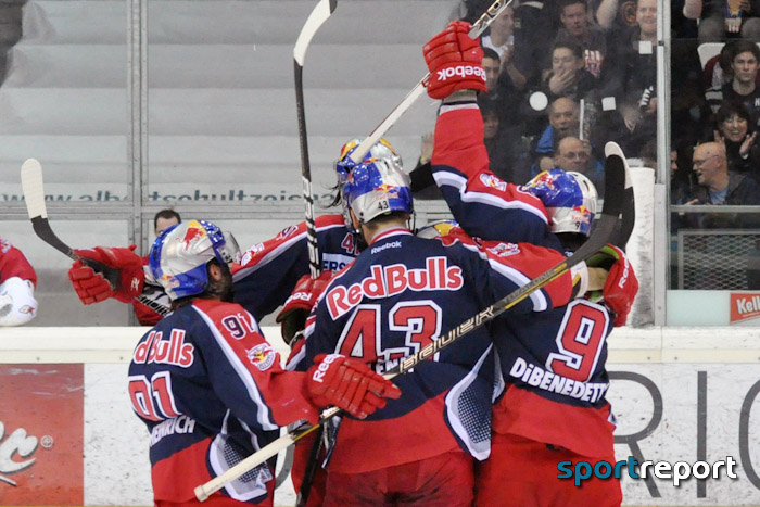Black Wings Linz, Red Bull Salzburg - Foto © Sportreport