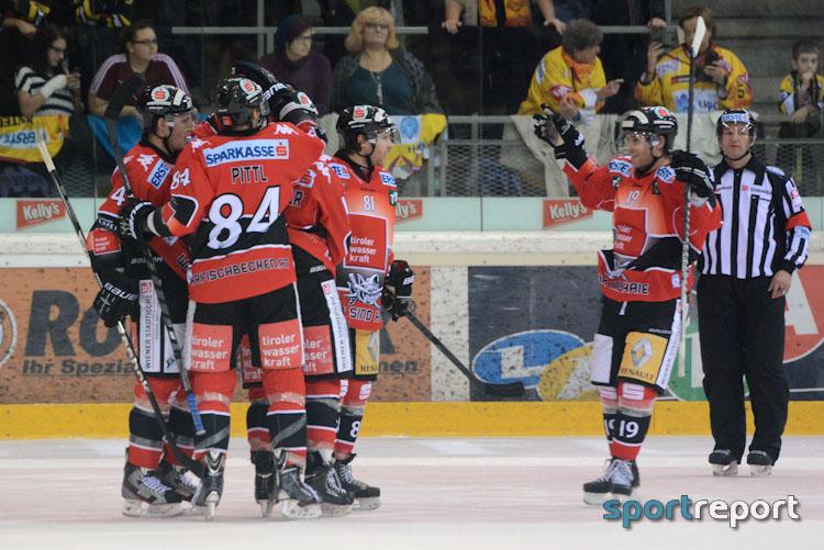 Eishockey, EBEL, Erste Bank Eishockey Liga, HC Innsbruck, HC Innsbruck