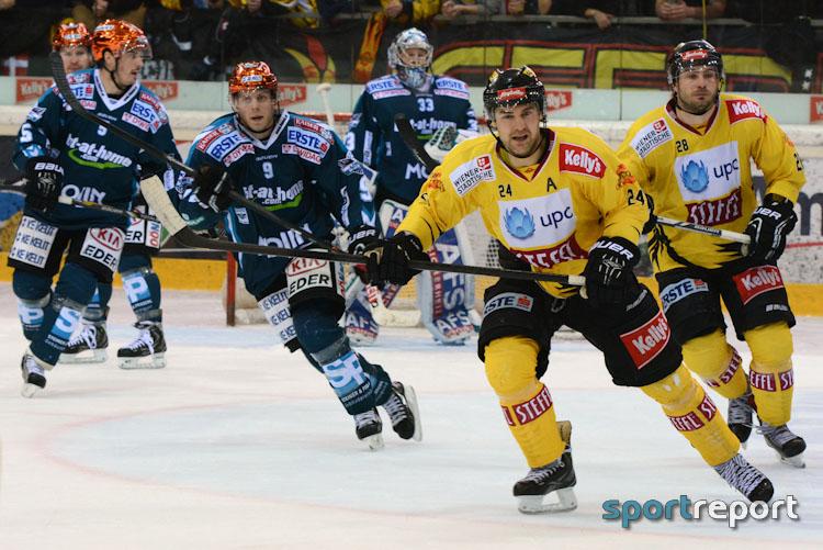 Black Wings Linz, Vienna Capitals - Foto © Sportreport
