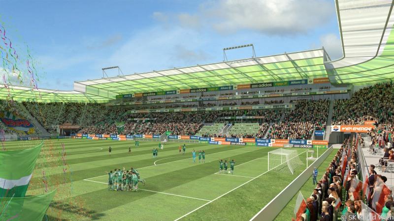 SK Rapid Wien, Allianz Stadion