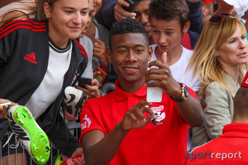 Großes Finale in Wien mit David Alaba - Ankick zum 11. Coca-Cola CUP