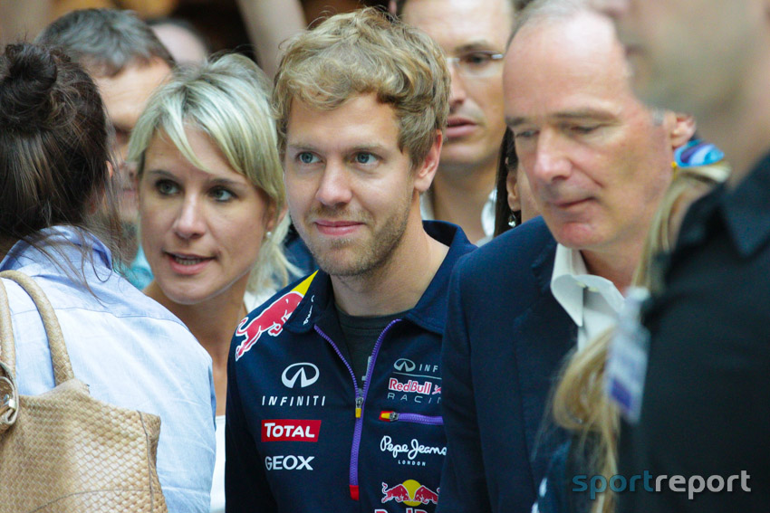 Vettel gewinnt vor Hamilton, Formel 1, Ferrari