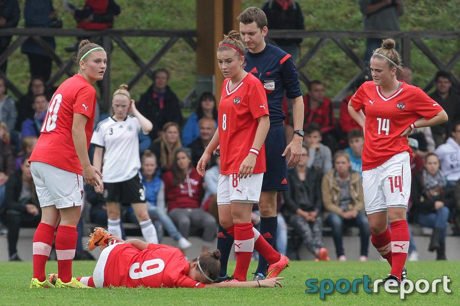 U17 Frauen Nationalteams, Deutschland, ÖFB, Damenfußball, Damen