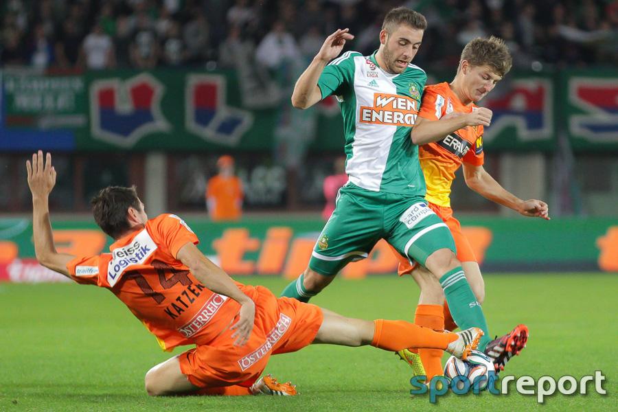 Rapid Wien gibt Sieg gegen Admira Wacker aus der Hand