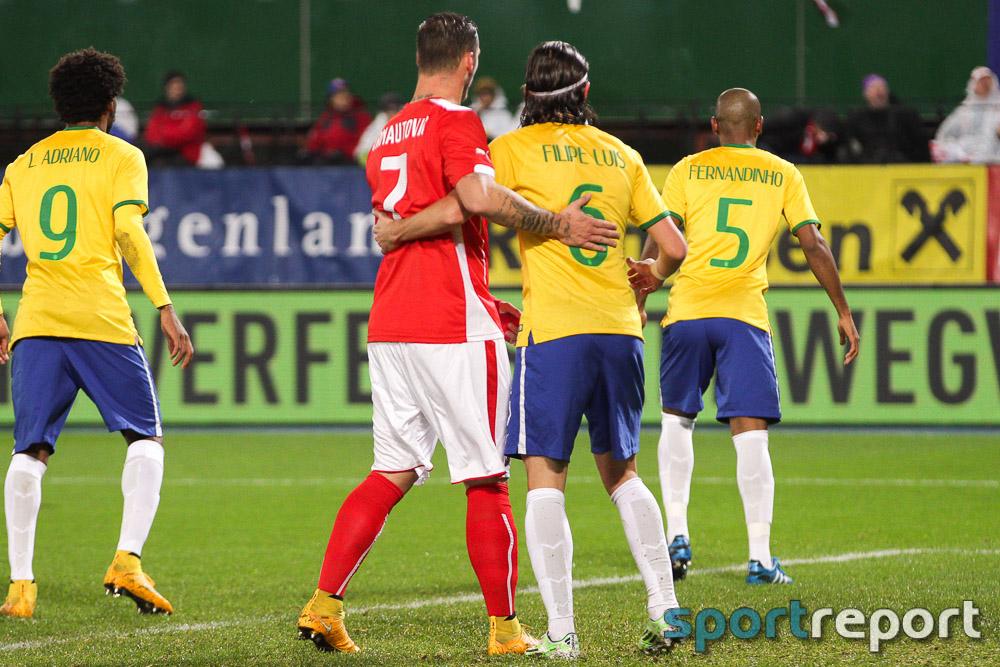 Fußball, Österreich, ÖFB, Brasilien, Nationalteam, Länderspiel