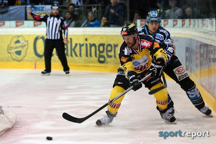 Rotter, Vienna Capitals, Black Wing Linz, Halbfinale, Playoff, EBEL, Eishockey - Foto © Sportreport