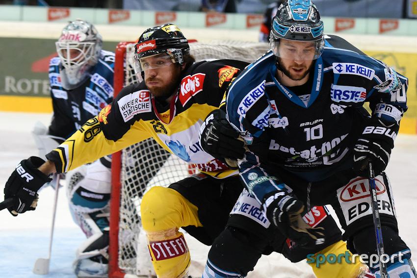 Vienna Capitals gewinnen Spiel 4 gegen die Black Wings Linz