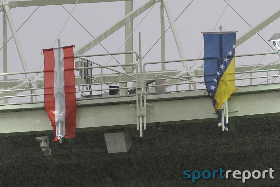 ÖFB Team, Nationalteam, Nationalmannschaft, Ernst Happel Stadion, freundschaftliches Länderspiel, Bosnien-Herzigowina