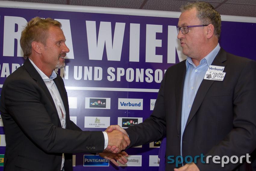 FK Austria Wien, Trainer, Generali Arena, Trainervorstellung