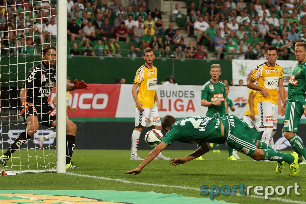 Österreich, Fußball, tipico Bundesliga, SK Rapid Wien, SV Ried, 1. Runde