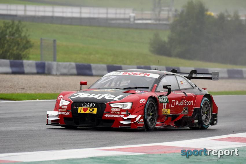 Fünfter Sieg in Folge: Rast hält mit Rekord DTM-Titelrennen offen