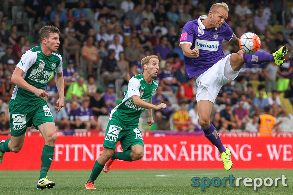FK Austria Wien trifft auswärts auf Aufsteiger SV Mattersburg
