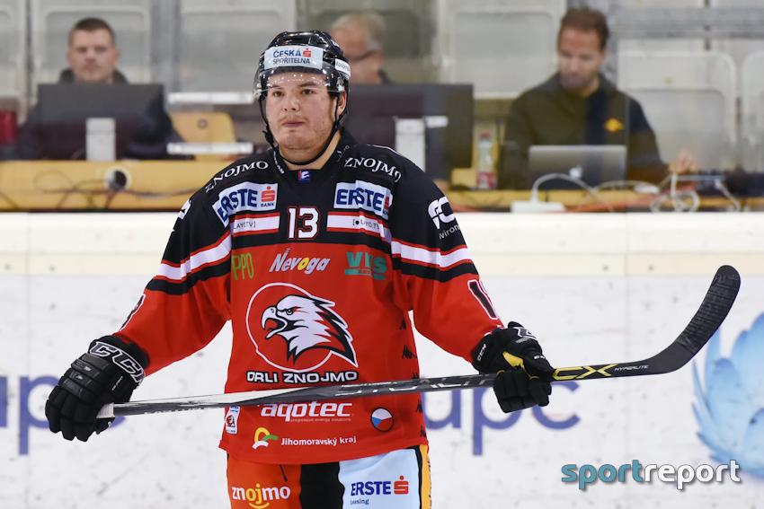 Eishockey, EBEL, Erste Bank Eishockey Liga, Orli Znojmo, Colton Yellow Horn, Vertragsverlängerung