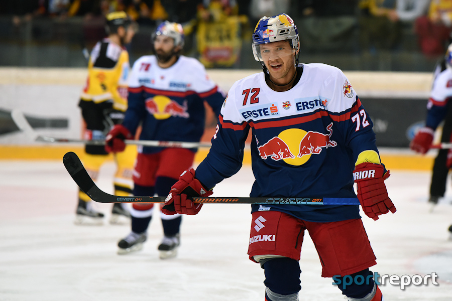 Eishockey, Red Bull Salzburg, Dornbirn Bulldogs, Dornbirner EC, Red Bull Salzburg vs. Dornbirner EC, #RBSDEC, EBEL, Erste Bank Eishockey Liga, Spielbericht, Bericht