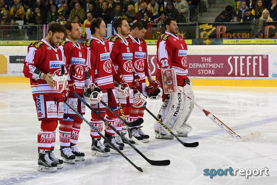 Eishockey, EBEL, Erste Bank Eishockey Liga, KAC, Red Bull Salzburg, Thomas Koch