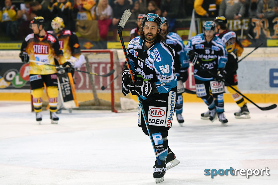 Erste Bank Eishockey Liga, EBEL, Sperre, DOPS, Sebastian Piche, Sebastien Piche, Black Wings Linz, Black Wings Linz vs. HCB Südtirol, Spiel 1, Spiel Eins, Spearing, Stockstich, Video