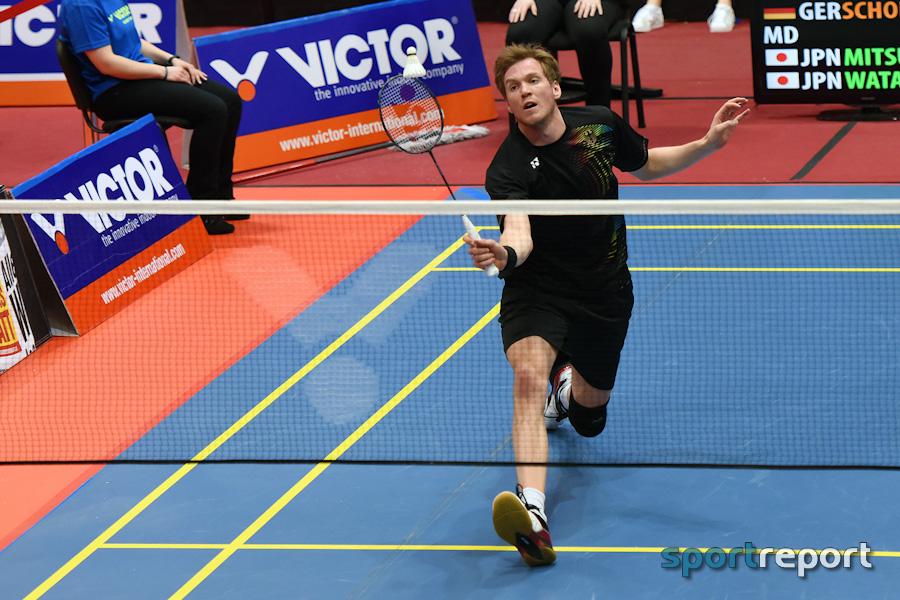 Austrian Open, Badminton, Anders Antonsen, Xu Wie - Foto © Sportreport