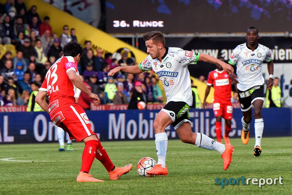 Fußball, Deutschland, Bundesliga, Schalke 04, Avdijaj, Donis Avdijaj, Christian Heidl