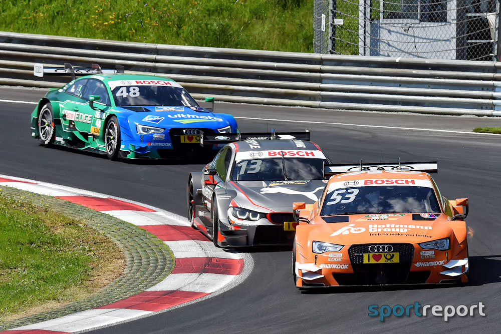 René Rast (Audi) holt sich mit Sieg die Tabellenführung zurück und ist DTM-Halbzeitmeister