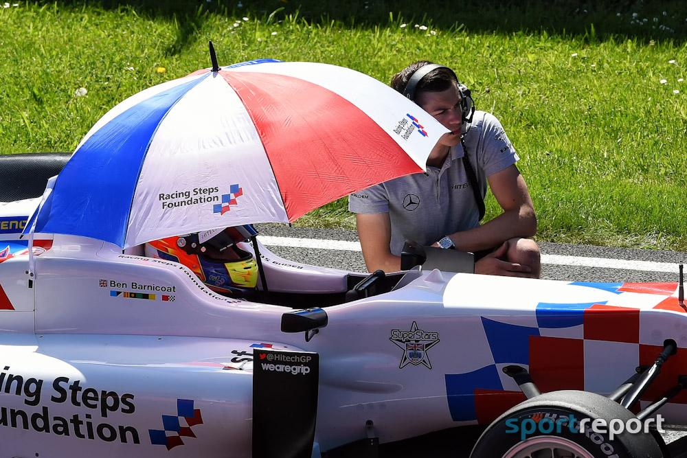 Achterbahnfahrt mit Formel-3-Fahrzeugen