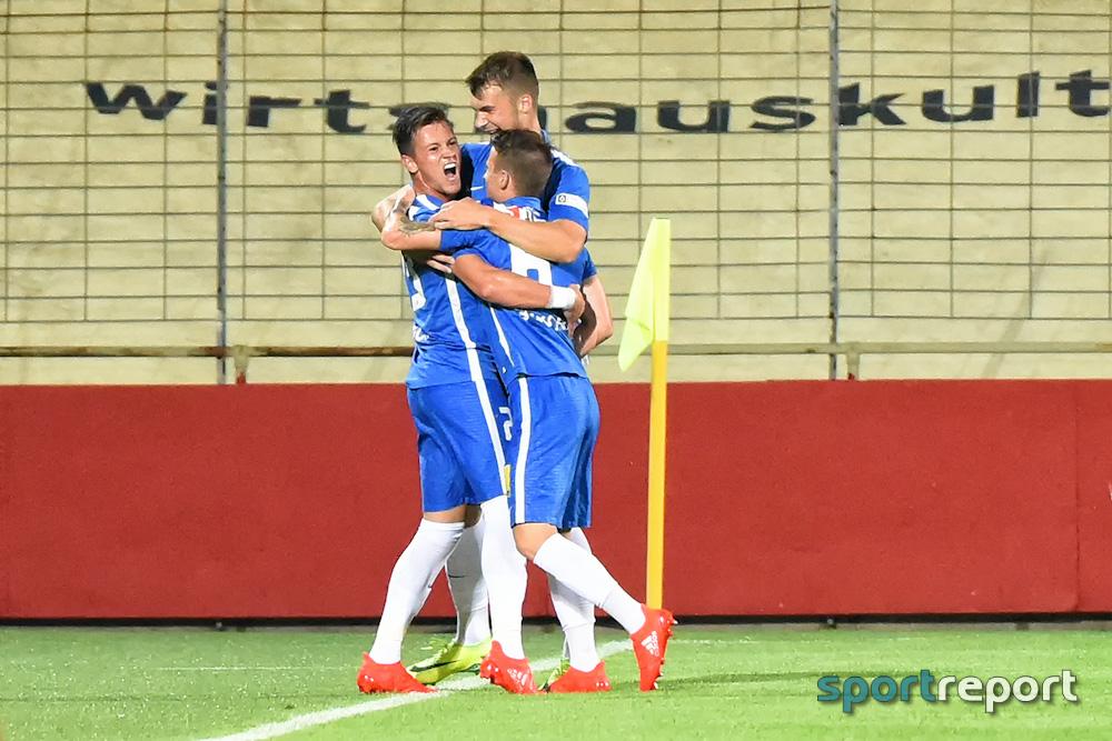 Slovan Liberec dreht Spiel gegen Admira Wacker und siegt in der Südstadt