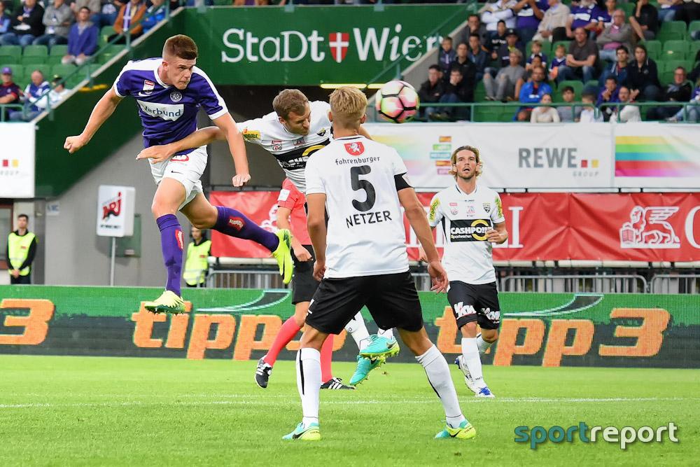 Fußball, Bundesliga, Tipico Bundesliga, 23. Runde, Austria Wien, SCR Altach, Ernst-Happel Stadion