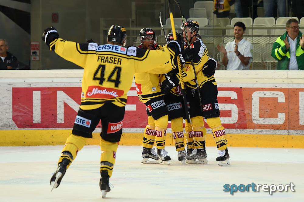 Eishockey, EBEL, Erste Bank Eishockey Liga, Bericht, Spielbericht, Olimpija Ljubljana, Vienna Capitals, Olimpija Ljubljana vs. Vienna Capitals, #ollvic