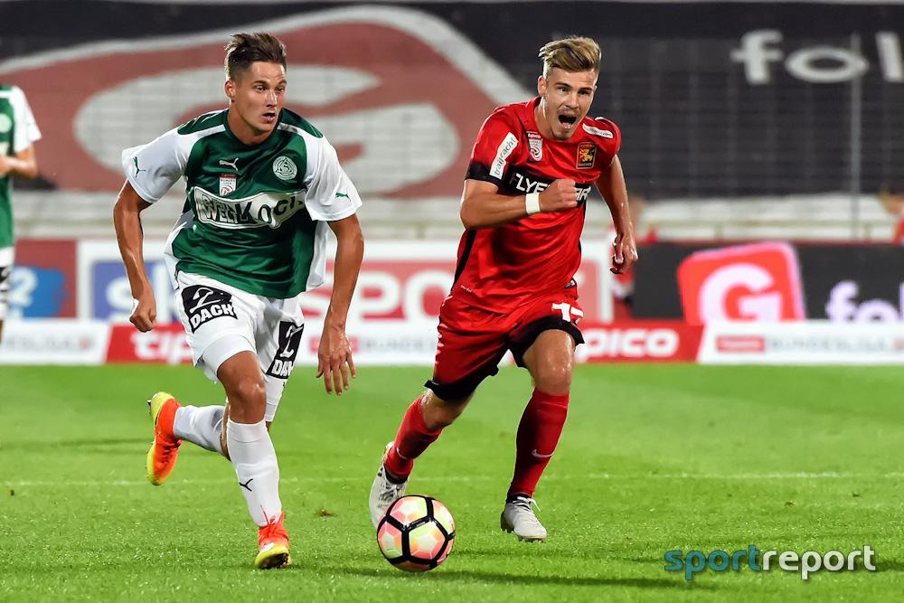 Admira Wacker muss zum Tabellenschlusslicht SV Mattersburg