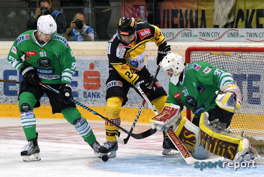 Eishockey, EBEL, Erste Bank Eishockey Liga, Vienna Capitals, Olimpjia Ljubljana
