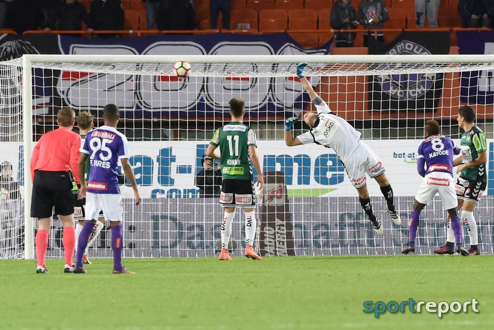 Fußball, Bundesliga, Tipico Bundesliga, Austria Wien, SV Ried, SV Ried vs. Austria Wien