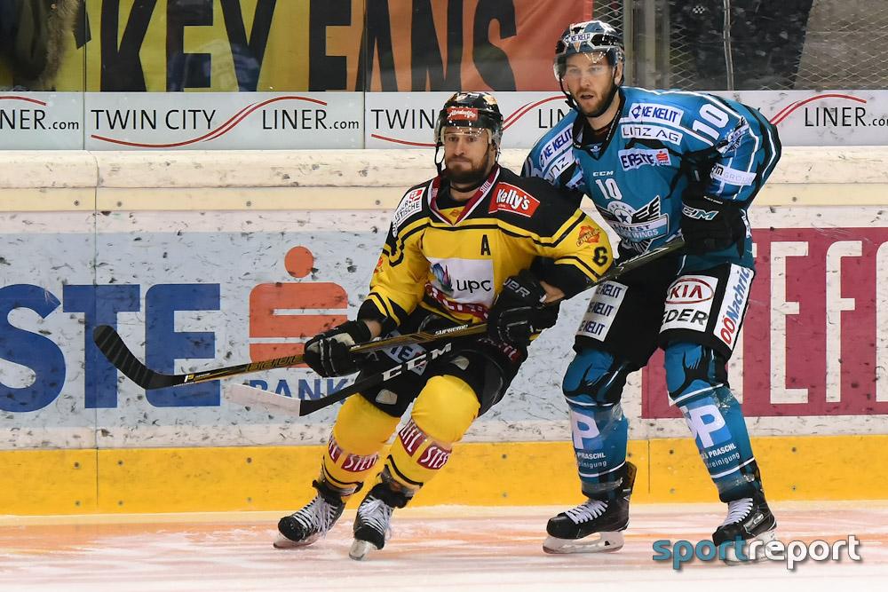 Eishockey, EBEL, Erste Bank Eishockey Liga, Vienna Capitals, Black Wings Linz