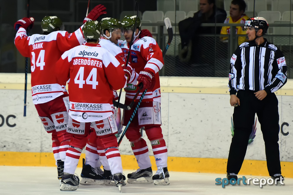 Eishockey, EBEL, Erste Bank Eishockey Liga, Playoffs, EBEL Playoffs, Viertelfinale, Spielbericht, Bericht, Spiel Zwei, HC Bozen, HCB Südtirol, Black Wings Linz, #HCB, #BWL, #HCBBWL, HCB Südtirol vs. Black Wings Linz, HC Bozen vs. Black Wings Linz