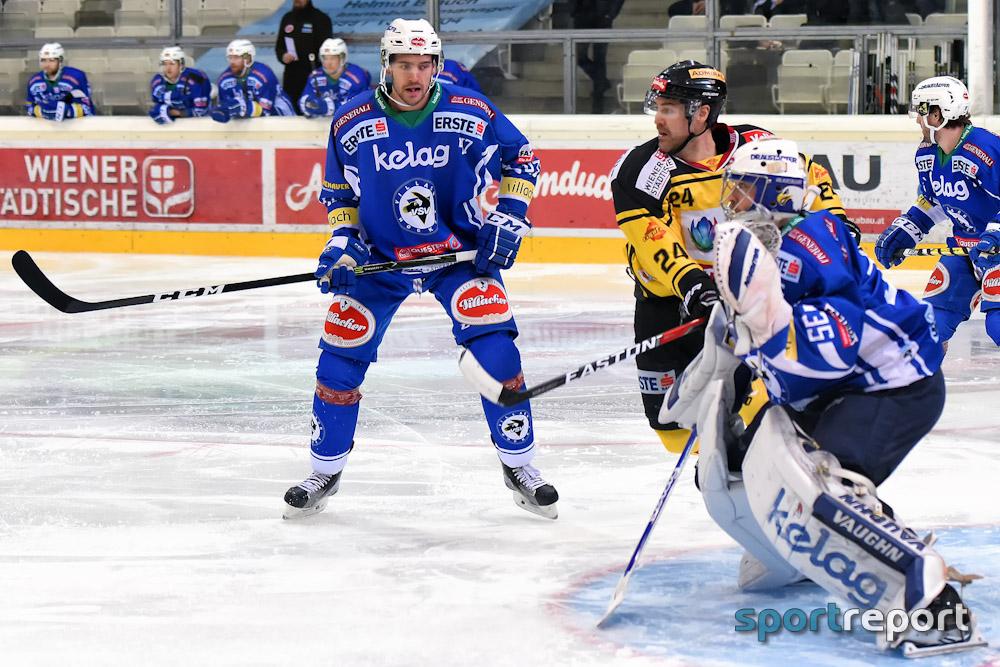 Eishockey, EBEL, Erste Bank Eishockey Liga, Vienna Capitals, VSV, Villach, Villacher SV