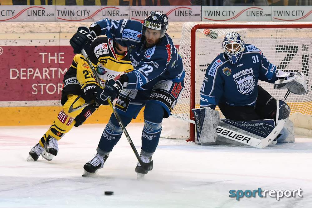 Eishockey, EBEL, Erste Bank Eishockey Liga, Fehervar, Olimpija Ljubljana