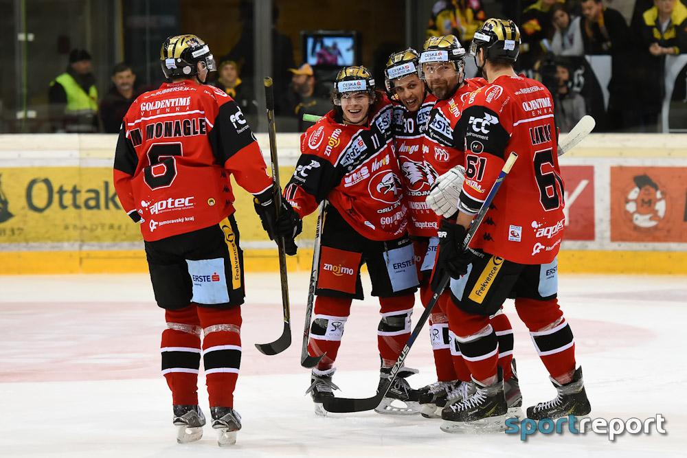 Eishockey, EBEL, Erste Bank Eishockey Liga, KAC, Orli Znojmo