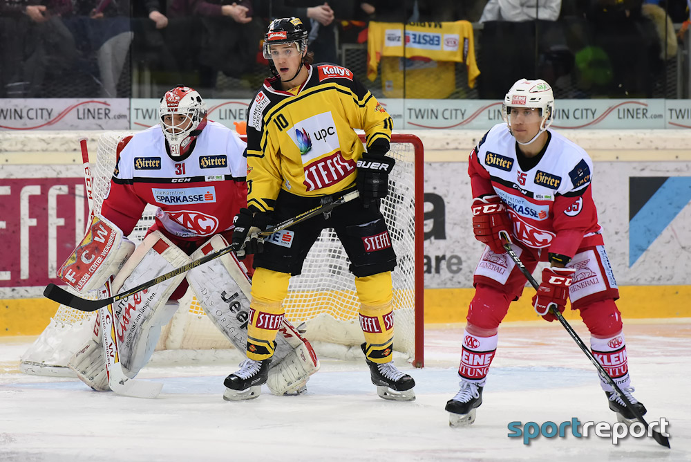 Eishockey, EBEL, Erste Bank Eishockey Liga, Vienna Capitals, Klagenfurt, KAC