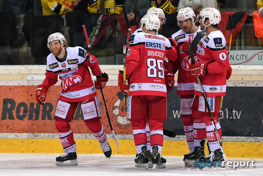 Eishockey, EBEL, Erste Bank Eishockey Liga, KAC, Red Bull Salzburg