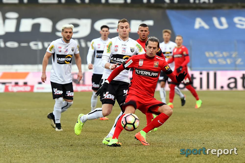 Fußball, Bundesliga, Tipico Bundesliga, Admira Wacker, SCR Altach, Admira Wacker vs. SCR Altach