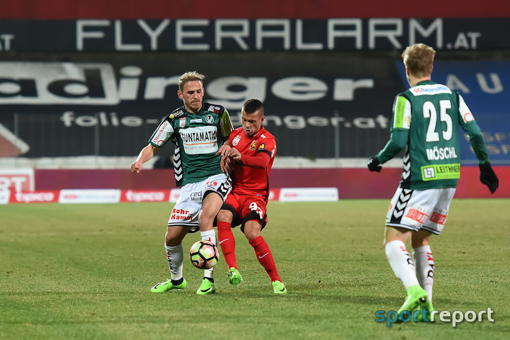 Fußball, Bundesliga, Tipico Bundesliga, Fröschl, SV Ried, Admira Wacker, SV Ried vs. Admira Wacker