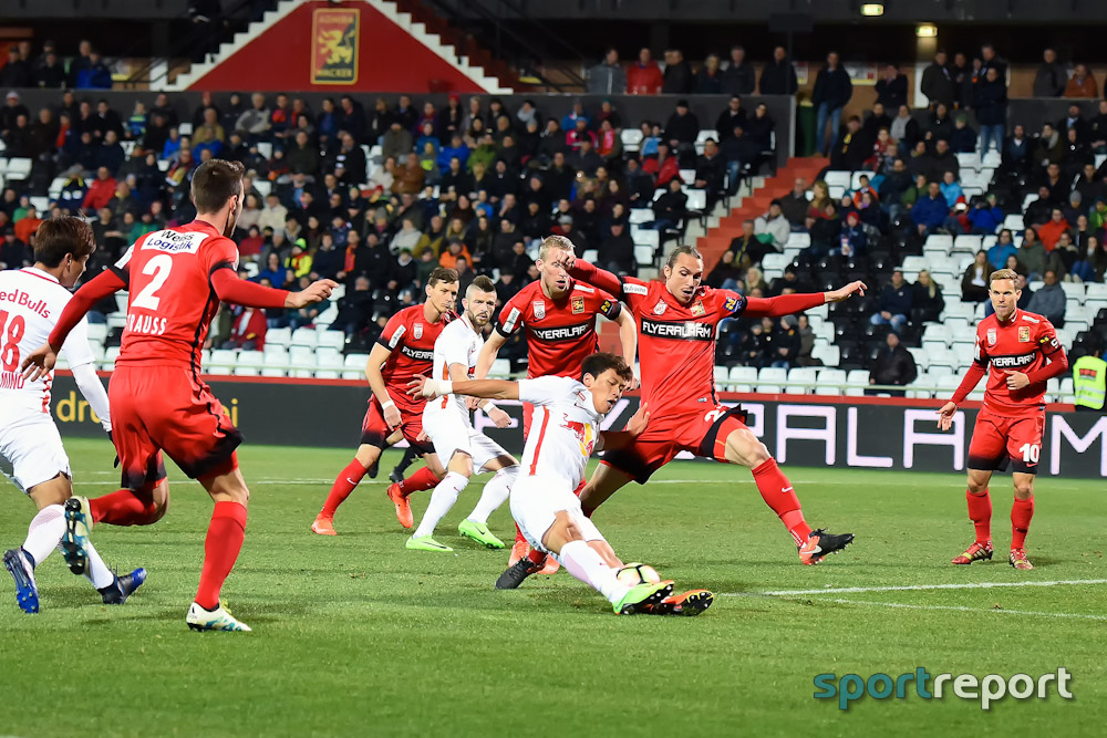 Fußball, Bundesliga, Tipico Bundesliga, Red Bull Salzburg, Admira Wacker, Admira Wacker vs. Red Bull Salzburg