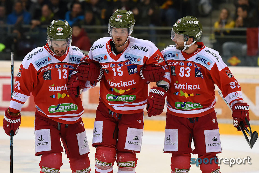 Eishockey, HCB Südtirol, HC Bozen, EBEL, Erste Bank Eishockey Liga, HCB Südtirol vs. Vienna Capitlals, Spiel Eins, Verletzung, Brodie Reid, Saisonaus