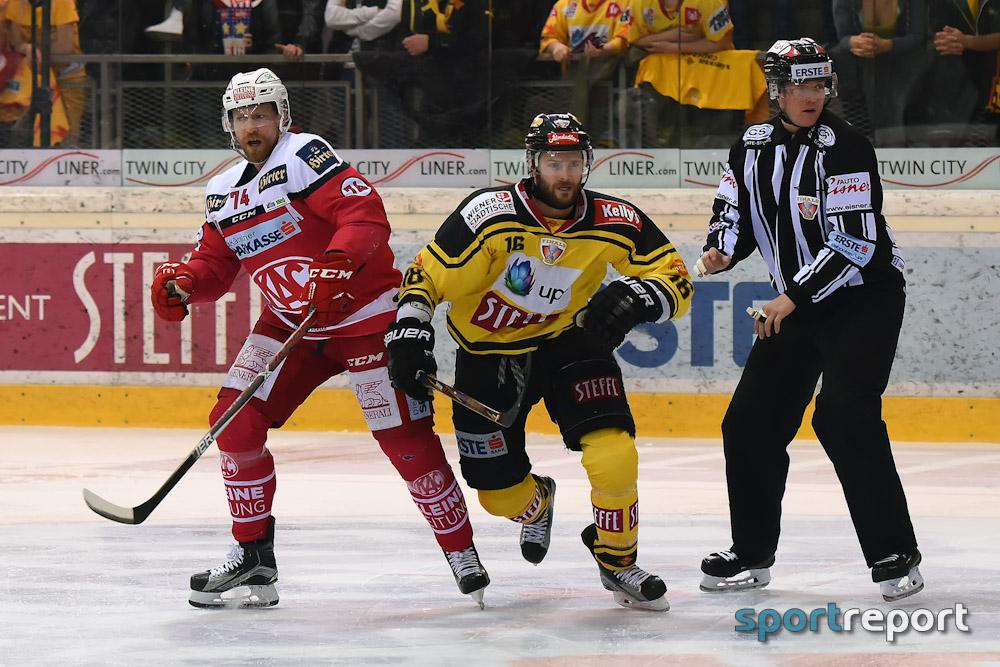 Eishockey, EBEL, Erste Bank Eishockey Liga, Vienna Capitals, KAC