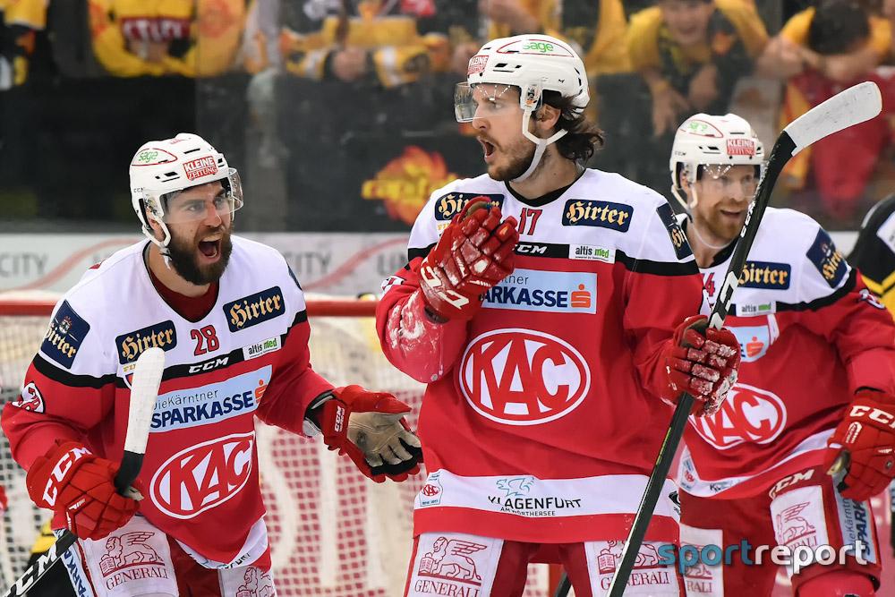 KAC klettert nach Sieg gegen Medvescak Zagreb wieder auf Rang zwei